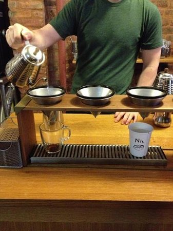 Cafe Grumpy:                   pour over