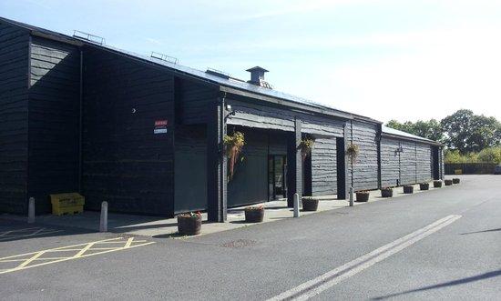 Penderyn Distillery: Outside