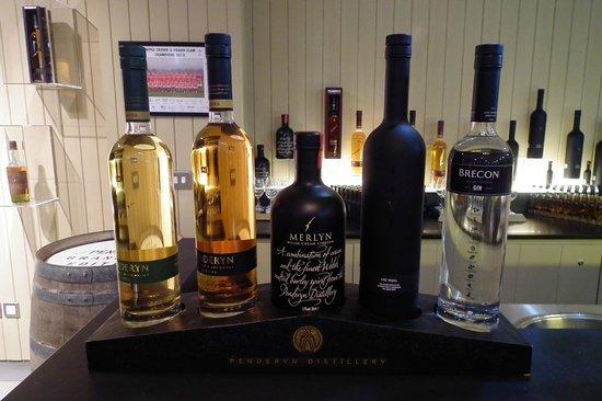 Penderyn Distillery: At the bar