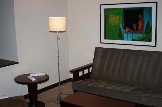 Tryp by Wyndham San Jose Sabana:                   living room area