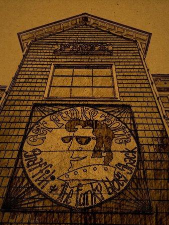 Graffiti & Funky Blues Shack : Retro style