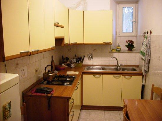 Leonard B&B: cucina abitabile in uso degli ospiti
