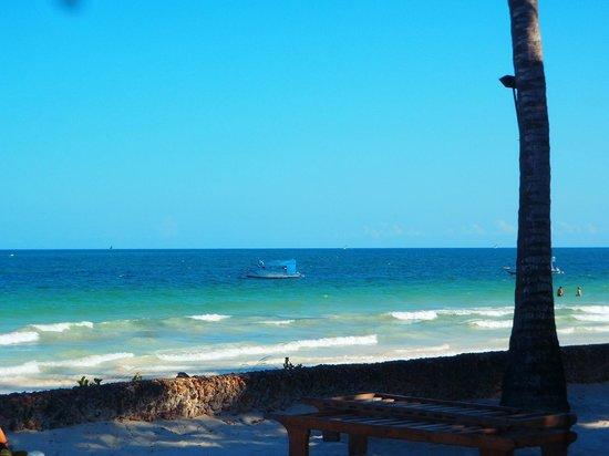 Ocean Village Club: Vue mer depuis son transat