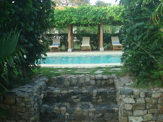 Hotel Villa Romana:                   AH - LA PICINA - cool it !!