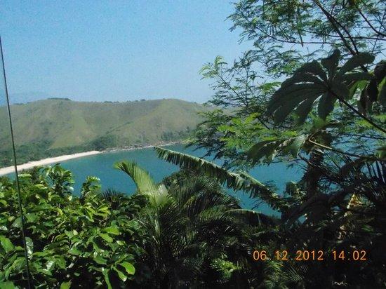 Ilha de Toque Toque Boutique Hotel & Spa:                   Vista da praia, na área de piscina