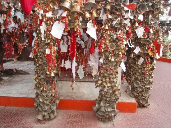 Ashoka's Naini Chalet Resort: Golu Dev ji temple near Bhimtal