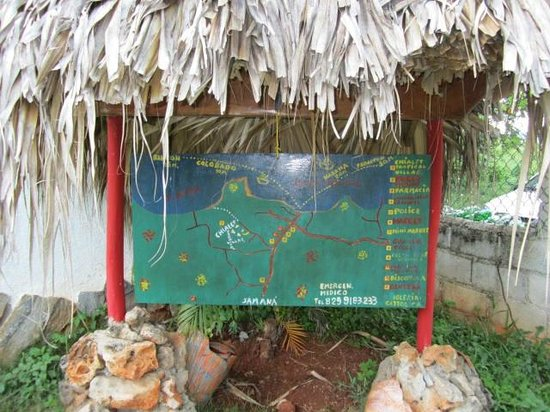 Chalet Tropical Village: The Map at the Chalet...