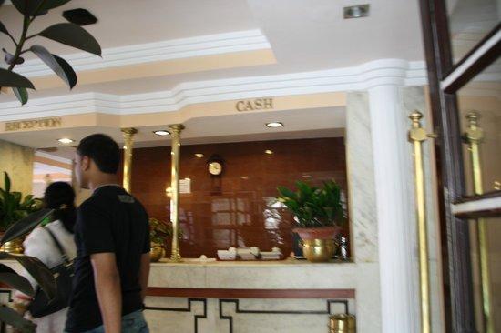 Hotel Alpine Continental : Reception
