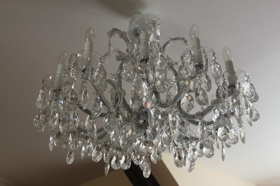 Alchymist Prague Castle Suites:                   gorgeous chandaliers