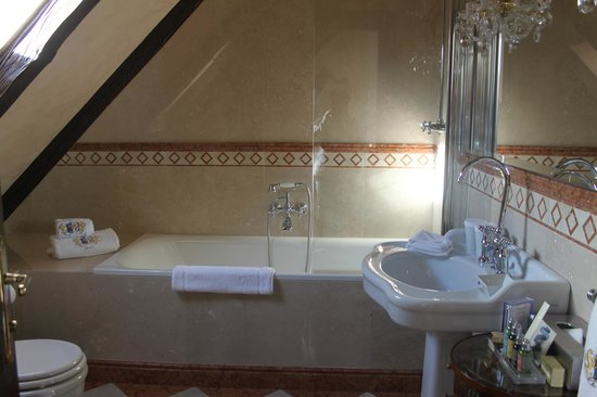 Alchymist Prague Castle Suites:                   Beautiful Italian marble