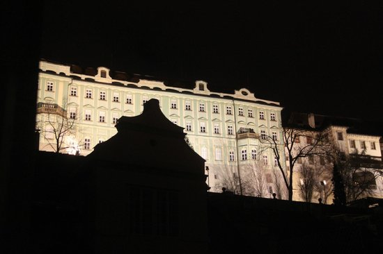 Alchymist Prague Castle Suites:                   Castle view fron suite balcony                 