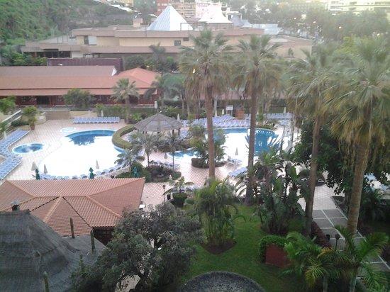 Sunlight Bahia Principe San Felipe: Utsikt fra balkong i 3 etg.