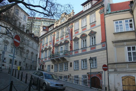 Alchymist Prague Castle Suites:                   Beautiful exterior