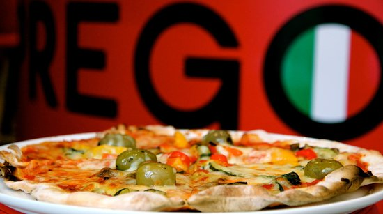 Prego Broadway: The 'famous' Prego pizza