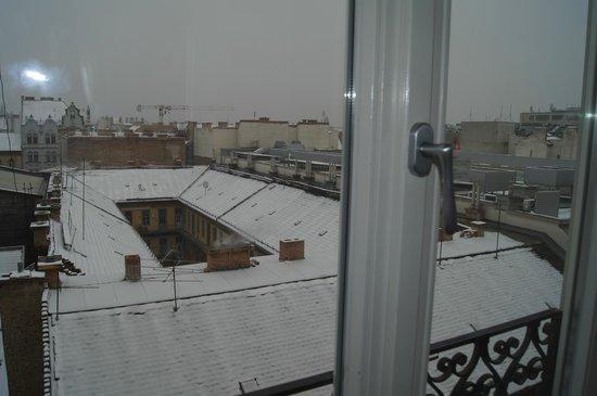 Corinthia Hotel Budapest: Вид из номера 4133