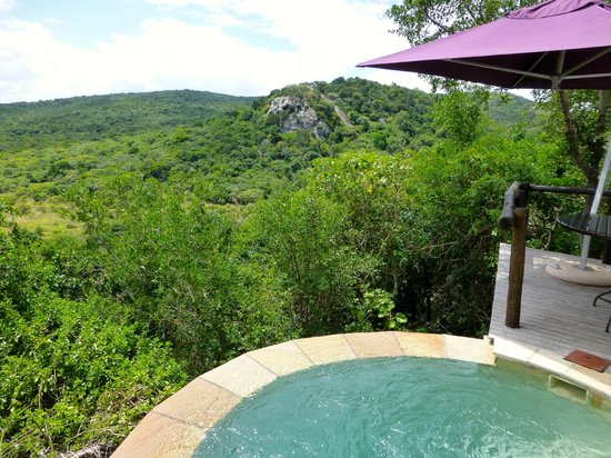 andBeyond Phinda Rock Lodge: Private pool