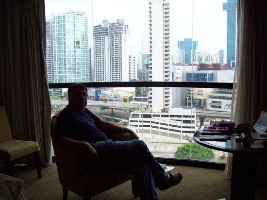 Plaza Paitilla Inn: foto sacada de la habitación impresionante la vista