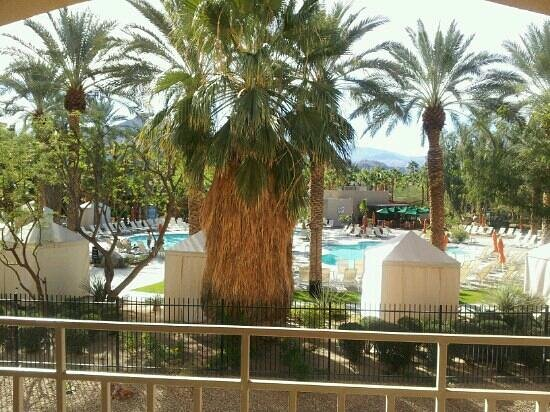 Hyatt Palm Springs:                   view from room