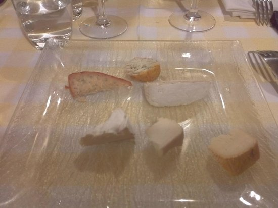 La Table de Christophe : Cheese selection