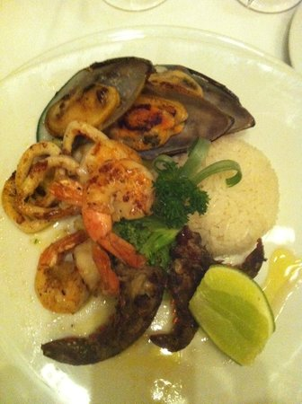 Zoetry Agua Punta Cana:                   dinner wtih sea food at Olena Restaurant