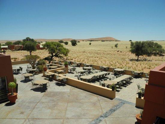 Sossusvlei Lodge: Essenbereich