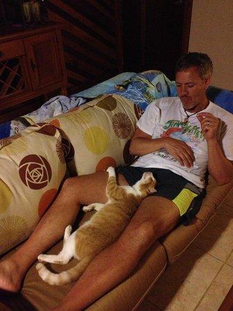 Villas Pico Bonito:                   Our special overnight guest at Bejuco