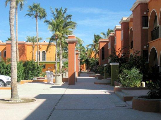 Hotel Palmas de Cortez: Walkway to Hotel Suites