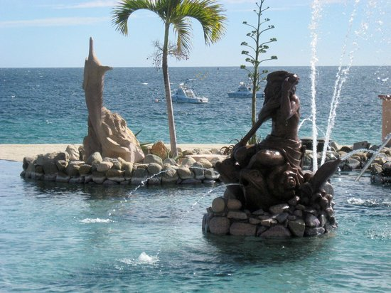 Hotel Palmas de Cortez: Pool Mermaid - Sea of Cortez