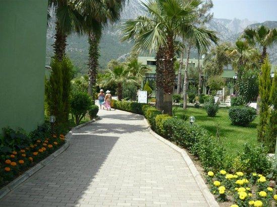 Larissa Hotel Beldibi :                   Entrance
