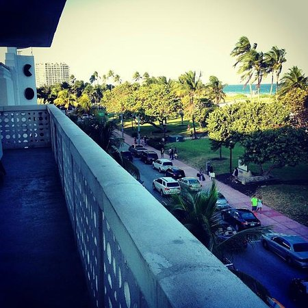 Congress Hotel South Beach:                   amazing balcony view