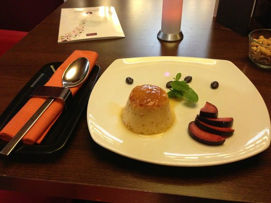 Mercure Budapest City Center:                   Creme Caramel from dessert menu