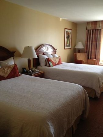 Hilton Garden Inn McAllen Airport: nice beds and linens