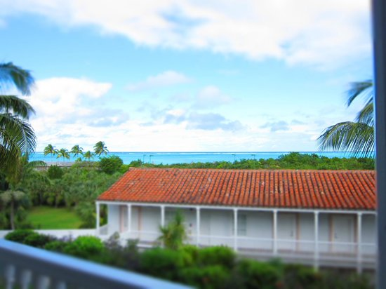 COMO Parrot Cay, Turks and Caicos :                   View from bungalow
