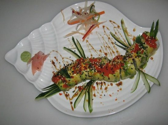 The Park Restaurant and Bar: Caterpillar Roll