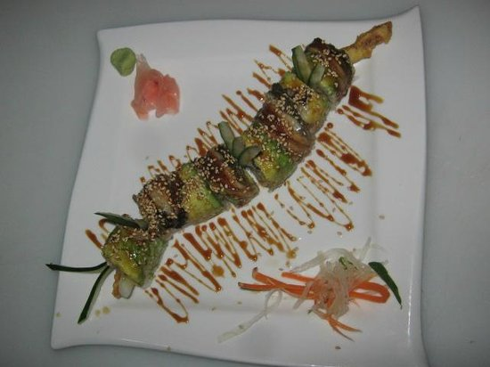The Park Restaurant and Bar: Dragon Roll