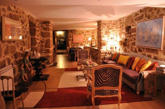 Solar de Oura: Sala de estar
