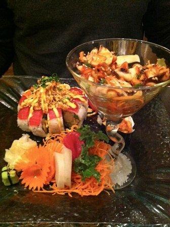 Thai Korner: sushi sashimi special