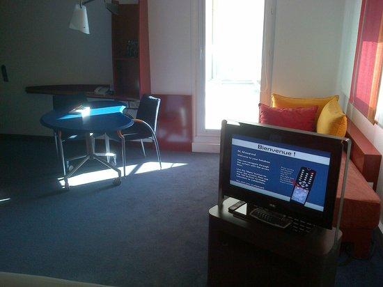 Novotel Suites Nice Aeroport Arenas: coin bureau