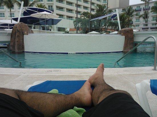 Hard Rock Hotel Vallarta: LA PISCINA UN LUGAR PARA RELAJARTE A GUSTO