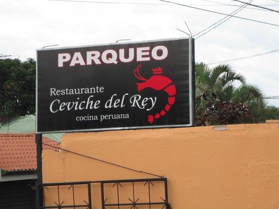 El Ceviche del Rey: Restaurant entrance