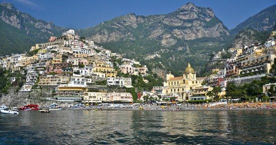 Noleggio barche Lucibello: Positano from onboard chartered boat