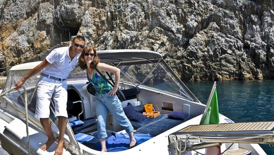 Noleggio barche Lucibello: Salvatore and Nicole on cabin cruiser