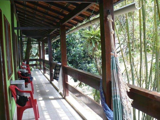 AquárioPousada &Hostel: balcon