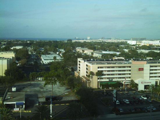 Tampa Marriott Westshore: view from the 14th floor