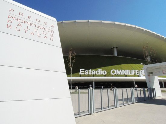 Estadio Omnilife: entrada al estadio
