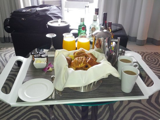 W South Beach: In-room free breakfast for SPG Platinum - only pastries