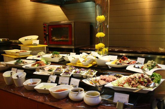 Country Inn & Suites by Carlson - Gurgaon, Udyog Vihar: Buffet des entrées