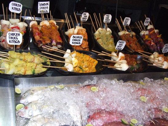 Tir Na Nog Restaurant : bbq kebab anyone?