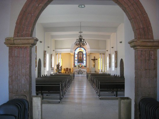 Hotel Palmas de Cortez :                   Todos Santos Catholic Church Downtown