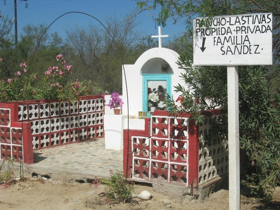 Hotel Palmas de Cortez:                   ATV up the Arroyo to a family shrine